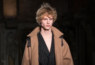 Christian Pellizzari at Milan Uomo Fashion Week