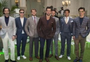 Songzio at London Fashion Week Mens