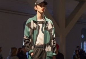 Tonsure at London Fashion Week Mens AW18
