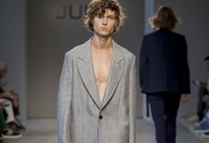 Junli at Milan Uomo Fashion Week