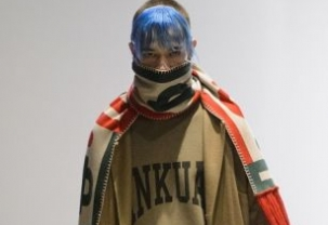 Sankuanz at Paris Fashion Week Homme