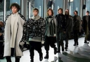 Strateas Carlucci at Paris Fashion Week Homme
