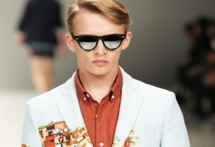 Matthew Miller at London Collections: Men