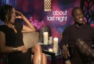 "Interview With ""About Last Night"" Celebs Kevin Hart and Michael Ealy"