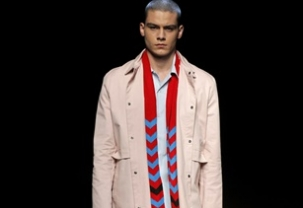 Moises Nieto at MBFW Madrid