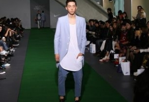 Munsoo Kwon at Seoul Fashion Week
