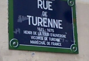 Rue de Turenne Part I