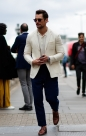 Street Style: David Gandy in London
