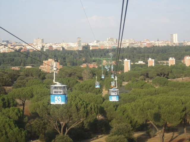 Creative Date Idea Madrids Very Own Cable Car 4