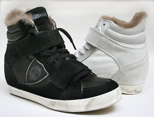 High top shoes from Leform Boutique