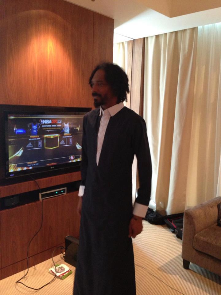 Snoop Dogg in a Toby by Hatem Alakeel