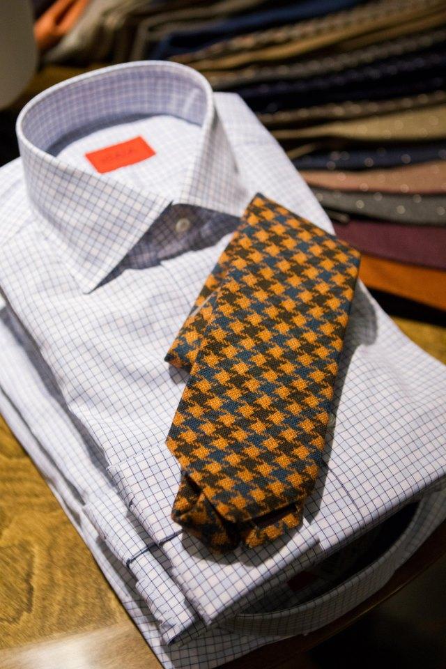 Wilkes Bashford shirt tie