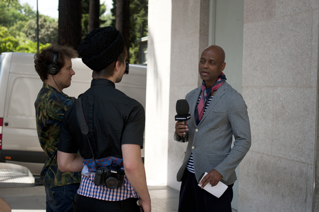Interview with Fashion TV Germany
