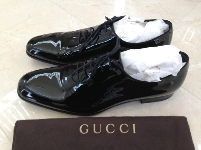 Gucci Patent Leather Shoe