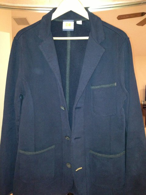 Hugo Boss Orange Label Navy Jacket from Saks