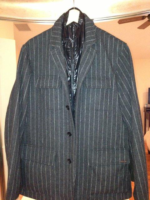 MK Pinstripe Jacket Saks