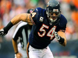 Brian Urlacher Chicago Bulls