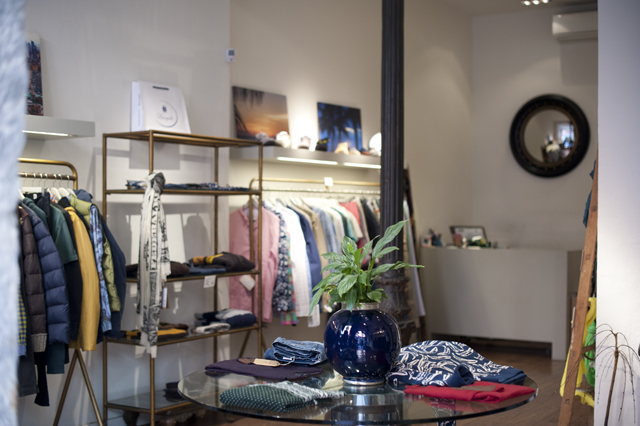 Barquillo 42 is a menswear boutique in the trendy Chueca neighborhood of Madrid.
