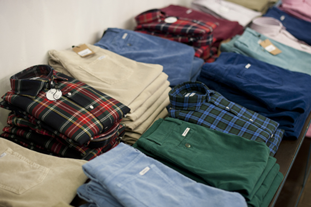 Some of the plaid and oxford shirt options