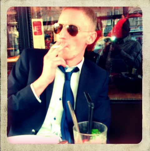 A smoke and a mojito...styling...