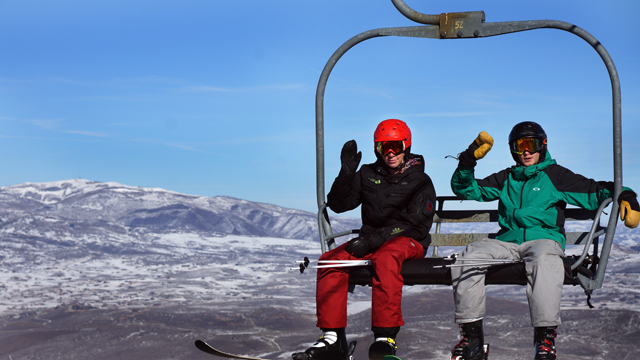 More subtle colors dominated the ski-lifts – instead of the bright neons of recent years.