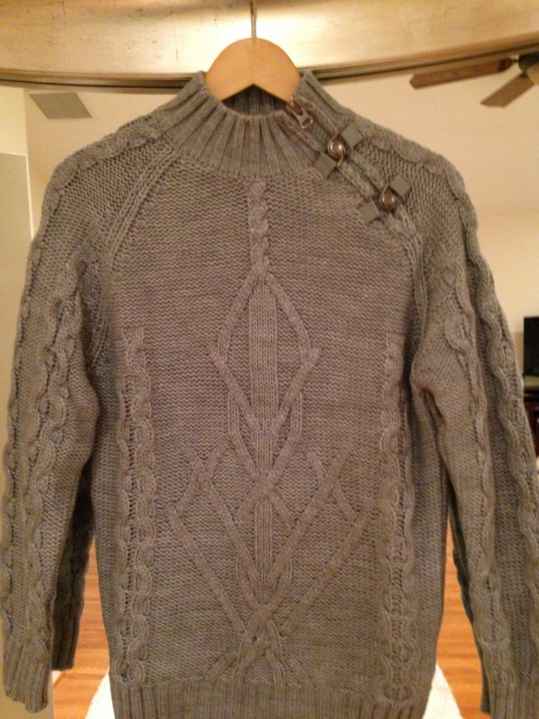 Cortefiel  gray sweater