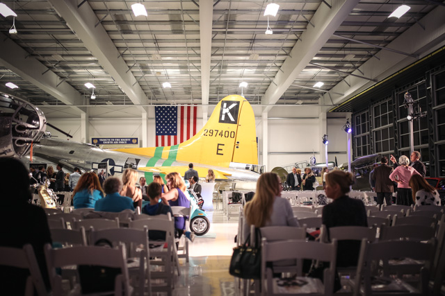 OC Fashion Week at the Lyons Air Museum.