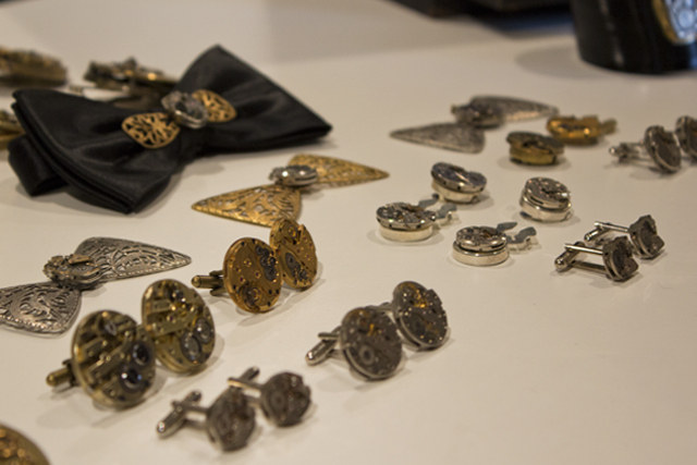 Steampunk Jewelry made of vintage watches