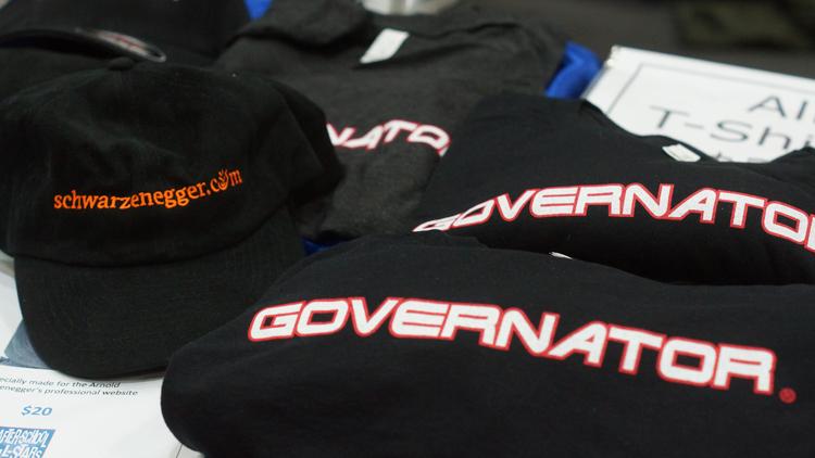 Governator Arnold wear