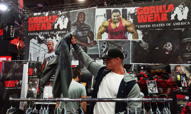 Gorilla Clothing Booth