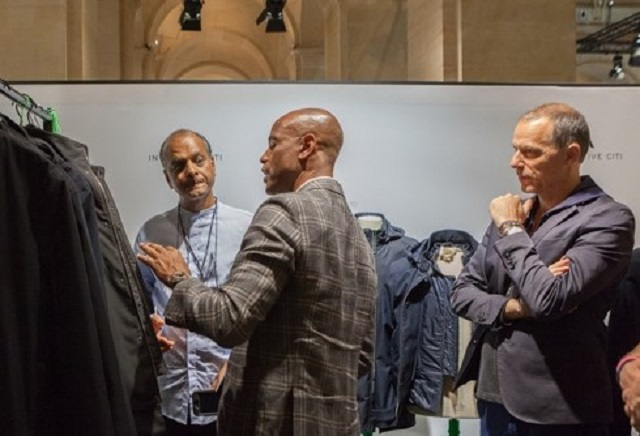 From left to right:  Fizal Khan / designer, Alton Barber / BDMOTP and Nicolas Bert / Inventive Citi