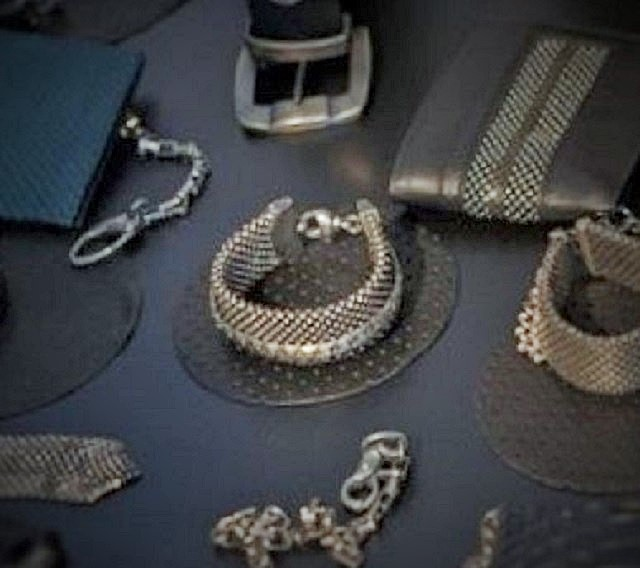 That well-known 'rockstar' chainmail bracelet