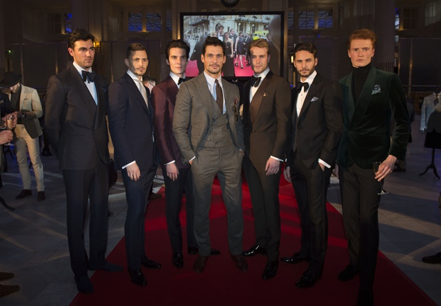 Chester Barrie AW16 presentation