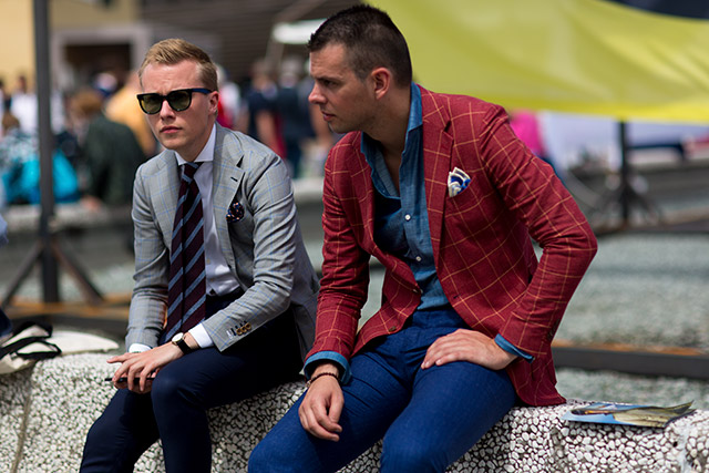 Take off these blazers for a more casual look.
