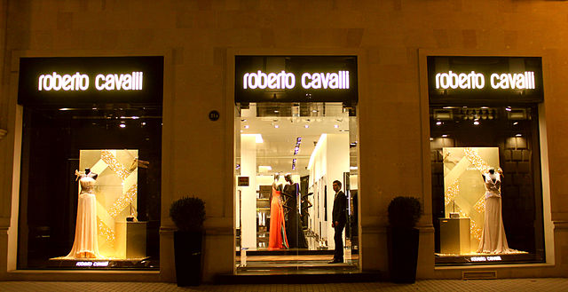 Roberto Cavalli hires a new creative director in hopes of turning profit. Photo courtesy of Wikipedia.